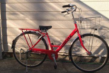 ご納車の自転車ブリヂストンステップクルーズDX のご案内